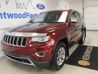 Used 2016 Jeep Grand Cherokee Limited | 4x4 | Heated Leather | Sunroof | for sale in Edmonton, AB