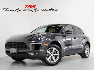 Used 2018 Porsche Macan PREM PKG PLUS I NAVI PANO I VENT. SEATS for sale in Vaughan, ON