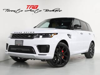 Used 2021 Land Rover Range Rover Sport AUTOBIOGRAPHY P525 I V8 SC | LOW KM I  22 IN WHEEL for sale in Vaughan, ON