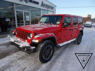 New 2021 Jeep Wrangler Unlimited Sahara 80th Anniversary Edition for sale in Arnprior, ON