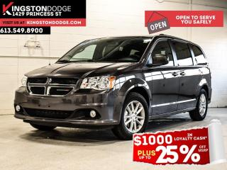 New 2020 Dodge Grand Caravan Premium Plus | Power Liftgate | Navigation | Trail for sale in Kingston, ON
