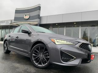 Used 2019 Acura ILX Tech A-Spec NAVI SUNROOF CAMERA 29KM for sale in Langley, BC