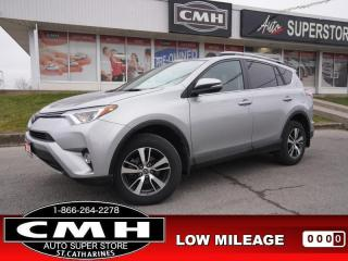 Used 2018 Toyota RAV4 Sport  CAM BLIND-SPOT ADAP-CC ROOF P/GATE 17-AL for sale in St. Catharines, ON