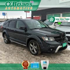 Used 2017 Dodge Journey Crossroad w/DVD, Navigation, Leather, Heated Seats for sale in Saskatoon, SK