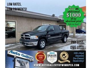 Used 2017 RAM 1500 SXT* 4WD/Crew/B.tooth/Satellite radio for sale in Winnipeg, MB