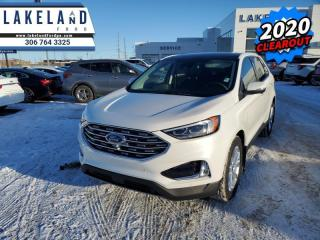New 2020 Ford Edge Titanium  - Navigation - Cooled Seats - $286 B/W for sale in Prince Albert, SK
