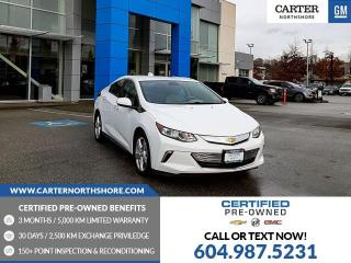 Used 2017 Chevrolet Volt LT LEATHER - HEATED SEATS - HEATED STEERING WHEEL for sale in North Vancouver, BC
