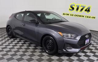 Used 2019 Hyundai Veloster Turbo Tech 1 OWNER - NO ACCIDENTS | $174 B/W $0 DOWN TAX-IN! for sale in Huntsville, ON