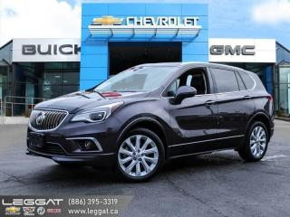 Used 2016 Buick Envision Premium II - Navigation -  Leather Seats for sale in Burlington, ON