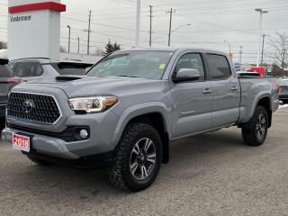Used 2018 Toyota Tacoma SR5 TRD SPORT-ONE OWNER+DEALER SERVICED! for sale in Cobourg, ON