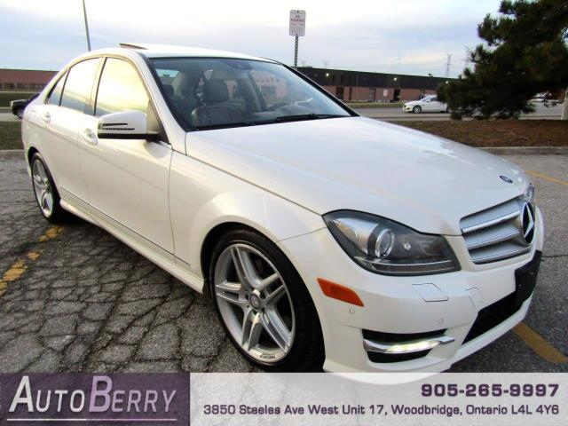 2013 Mercedes-Benz C-Class C350 4MATIC Sport Sedan
