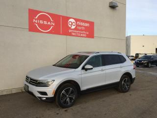 Used 2018 Volkswagen Tiguan Highline 4dr AWD 4MOTION / AWD/ Pano roof / Memory Seats / Push to Start for sale in Edmonton, AB