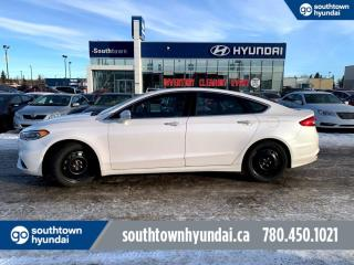 Used 2017 Ford Fusion SPORT/AWD/V6/LEATHER/HEATED/COOLED SEATS for sale in Edmonton, AB