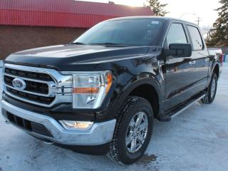 New 2021 Ford F-150 XLT 300A | 4x4 Supercrew | 2.7L Ecoboost | Auto Start/Stop | Rearview Camera | Trailer Hitch | Trailer Tow Package for sale in Edmonton, AB