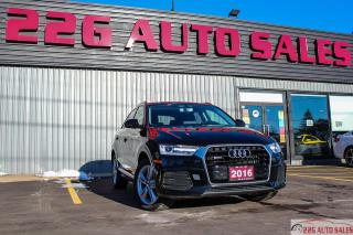 Used 2016 Audi Q3 Progressiv|ACCIDENT FREE|HEATED SEATS|LEATHER SEAT for sale in Brampton, ON