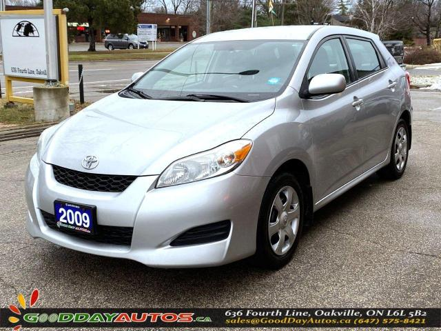 2009 Toyota Matrix XR|LOW KM|NO ACCIDENT|AUX PORT|CERTIFIED