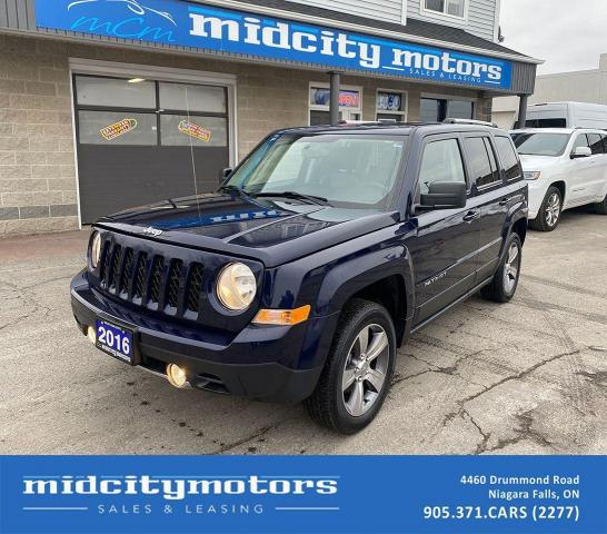 2016 Jeep Patriot High Altitude 4X4/ LOW KMs/ SUNROOF/ CLEAN CARFAX