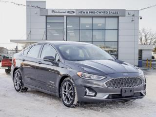 Used 2019 Ford Fusion Hybrid Titanium LOADED | BLIS for sale in Winnipeg, MB