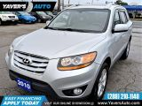 Photo of Silver 2010 Hyundai Santa Fe