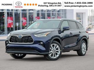 New 2021 Toyota Highlander Highlander Hybrid Limited AWD for sale in Pickering, ON