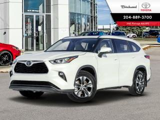 New 2021 Toyota Highlander XLE for sale in Winnipeg, MB