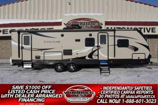 Used 2019 Keystone RV Cougar Half-Ton 29BHS BUNK HOUSE, HIGH-END OPTIONS, THERMAL PKG! for sale in Headingley, MB