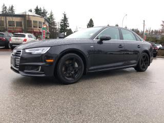 Used 2017 Audi A4 4dr Sdn Auto Technik quattro for sale in Surrey, BC