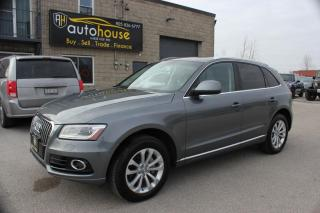 Used 2014 Audi Q5 TECHNIK /8-SPEED/PERSTIGE PKG/LEATHER INTERIOR/FULLY LOADED for sale in Newmarket, ON