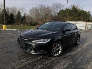 Used 2015 Chrysler 200 S AWD for sale in Cayuga, ON