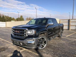 Used 2018 GMC Sierra 1500 SLT CREW Z71 4WD for sale in Cayuga, ON
