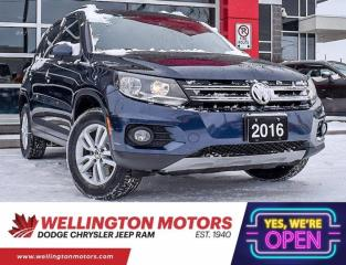 Used 2016 Volkswagen Tiguan Trendline --> New Front Brakes & Rotors !! for sale in Guelph, ON