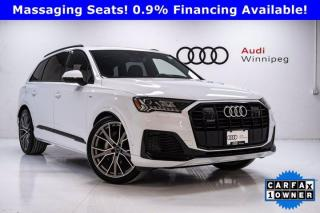 Used 2020 Audi Q7 Technik w/Black Optics & 4 Wheel Steering *DEMO* for sale in Winnipeg, MB