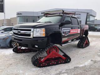 Used 2007 Chevrolet Silverado 1500 LTZ 6.0L 4x4 Crew Cab | Truck Tracks for sale in Winnipeg, MB