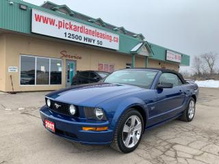 Used 2007 Ford Mustang GT LOW KM! | ONE OWNER! | ONTARIO VEHICLE! | MANUAL! for sale in Bolton, ON