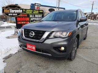 Used 2018 Nissan Pathfinder SV TECH - Navi - Blind Spot - Adaptive Cruise - Winter and Summer tires - 4WD - Well Maintained - Warranty for sale in North York, ON
