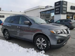 Used 2018 Nissan Pathfinder SV TECH - Navi - Blind Spot - Adaptive Cruise - Winter and Summer tires - 4WD - Well Maintained - Blow Out Sale Priced for sale in North York, ON