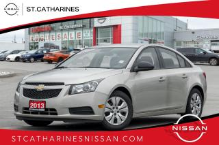 Used 2013 Chevrolet Cruze LS Accident Free | Auto | Air for sale in St. Catharines, ON