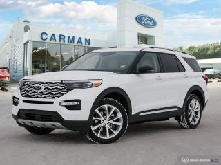 New 2021 Ford Explorer Platinum for sale in Carman, MB