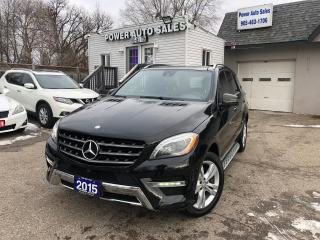 Used 2015 Mercedes-Benz ML-Class 4MATIC 4dr ML 350 BlueTEC for sale in Brampton, ON