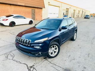 Used 2014 Jeep Cherokee NORTH ED | BU CAM | CLEAN CARFAX for sale in Burlington, ON