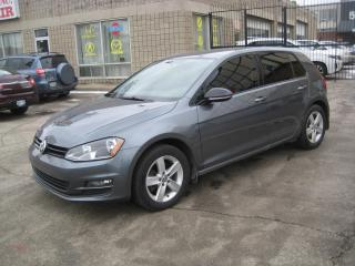 Used 2015 Volkswagen Golf 5dr HB Man 1.8 TSI Comfortline leather Navigation for sale in North York, ON
