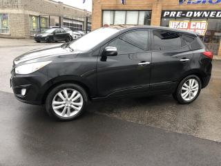 Used 2012 Hyundai Tucson AWD 4dr I4 Auto Limited-NAVIGATION-DUAL SUNROOF for sale in North York, ON