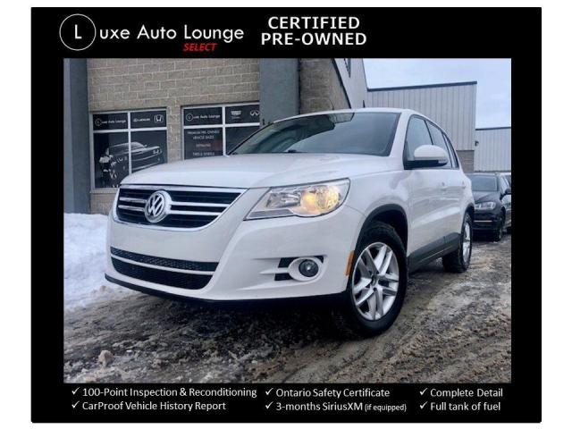 2010 Volkswagen Tiguan COMFORTLINE, HEATED SEATS, 4MOTION AWD!!