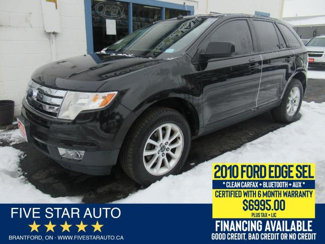 2010 Ford Edge SEL *Clean Carfax* Certified w/ 6 Month Warranty