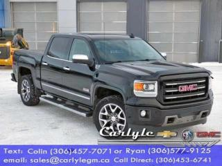 Used 2015 GMC Sierra 1500 SLE for sale in Carlyle, SK
