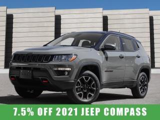 New 2021 Jeep Compass Trailhawk Elite 4x4 for sale in Winnipeg, MB