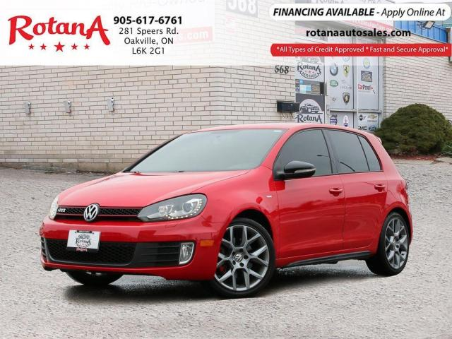 2013 Volkswagen GTI Wolfsburg Edition/Navi/Sunroof/Loaded