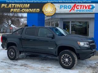 Used 2018 Chevrolet Colorado ZR2 | Crew | 3.6L V6 | Bose | NAV | Off-Road Light for sale in Virden, MB