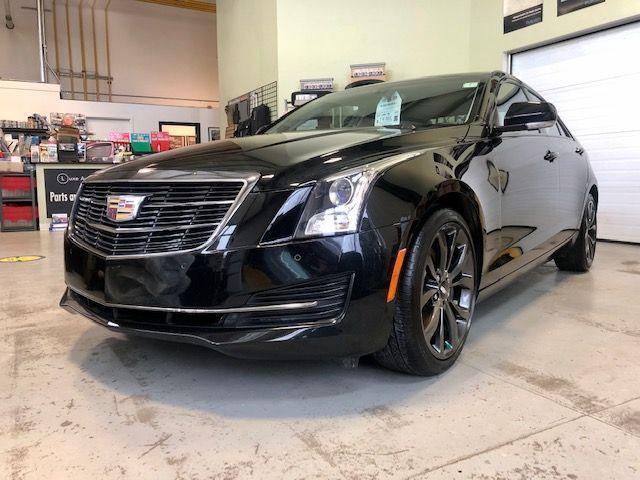 2017 Cadillac ATS Luxury AWD CARBON BLACK PKG! LOW KM, RECARO SEATS!