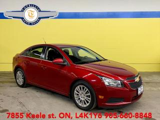 Used 2013 Chevrolet Cruze ECO, Back-up Cam, Bluetooth for sale in Vaughan, ON